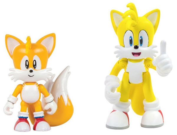 Sonic Classic - Tails & Modern Tails with Comic Book