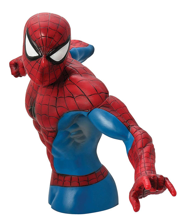 Marvel - Spider-Man Action Pose Bust Coin Bank - Kryptonite Character Store