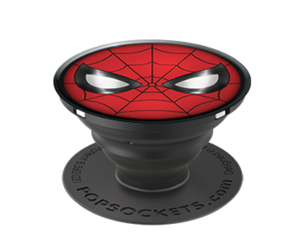 Pop Socket - Marvel Comics - Spider Man Icon in Glossy Print - Kryptonite Character Store