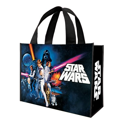 Star Wars A new Hope Large Recycled Shopper Tote- Kryptonite Character Store