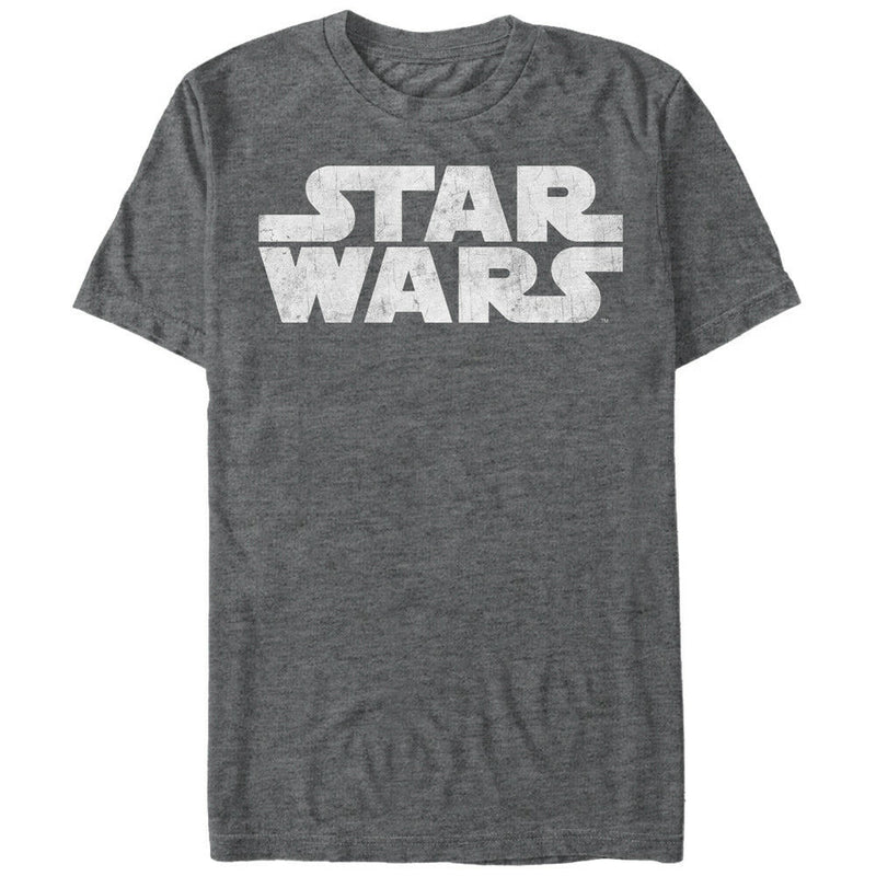Star Wars Logo Adult Fitted Mens Graphic T Shirt