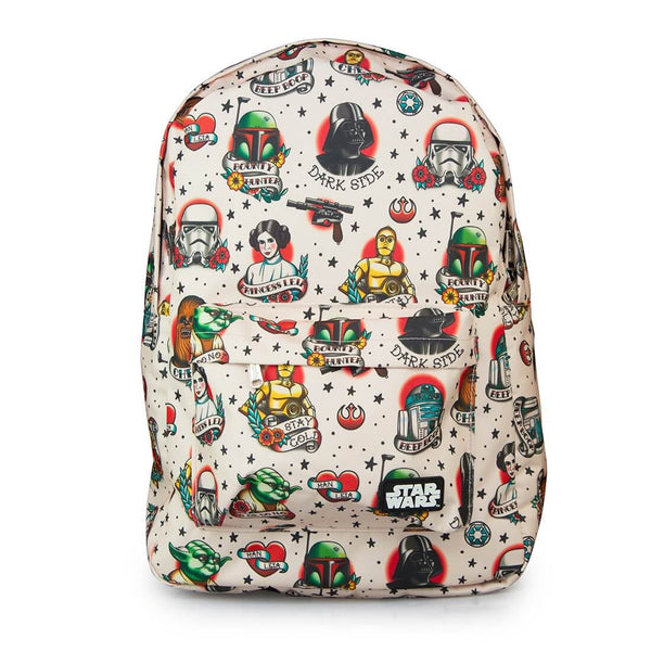 Loungefly - Star Wars Tattoo Flash Print Backpack - Kryptonite Character Store