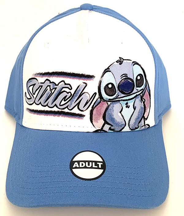 Disney - Lilo and Stitch - Stitch Sketch Baseball Hat Cap, Adult Size - Kryptonite Character Store