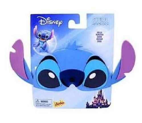 Disney - Lilo and Stitch - Stitch Sun-Stache Sunglasses - One Size