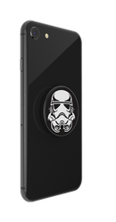 Pop Socket - Star Wars - Stormtrooper Helmet Gloss Print Logo - Kryptonite Character Store