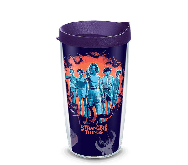 Stranger Things - Season 3 Uprising  16 Oz Wrap With Travel Lid - Kryptonite Character Store