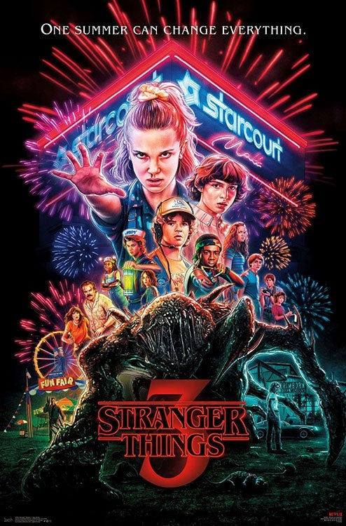 Netflix - Stranger Things 3 - One Sheet Wall Poster - Kryptonite Character Store