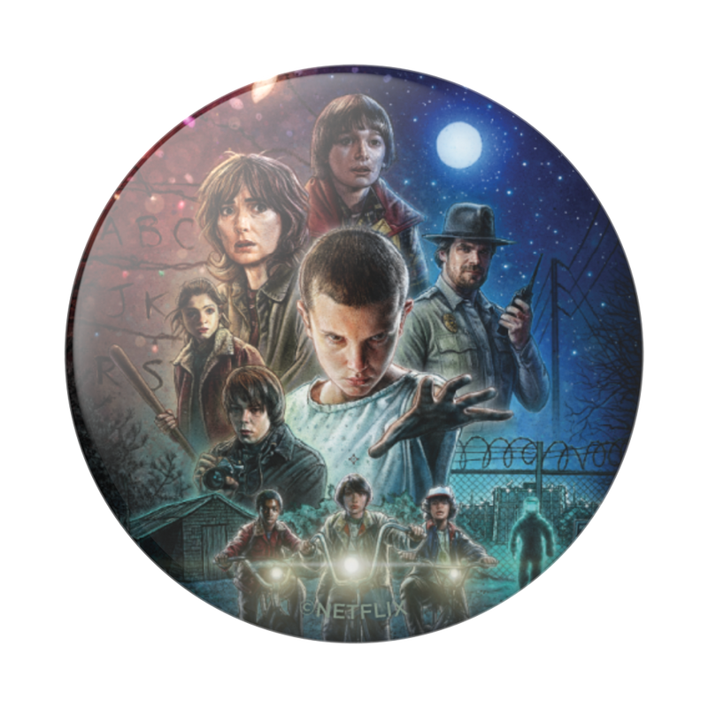 Pop Socket - Netflix - Stranger Things in Glossy Print - Kryptonite Character Store