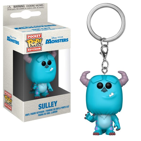 Pop! Keychain: Monsters Inc. - Sulley - Kryptonite Character Store