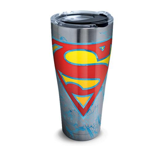 DC: Superman 30 oz. Stainless Steel Tervis Tumbler- Kryptonite Character Store