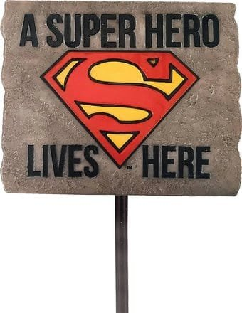 DC Comics - Superman Quote Garden Stake - Kryptonite Character Store