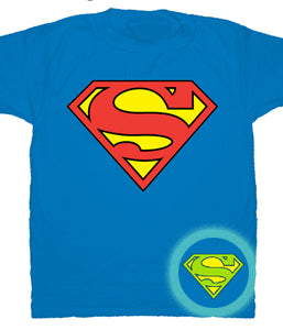 Superman Glow in the Dark Shield T-Shirt