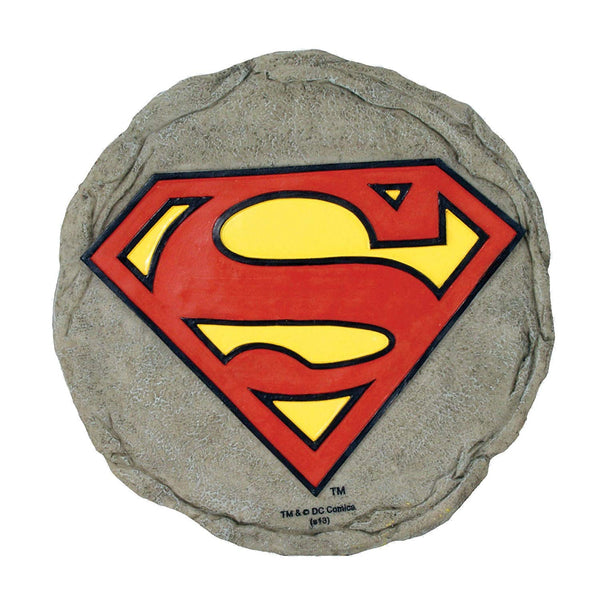 Spoontiques Superman Logo Stepping Stone - Kryptonite Character Store