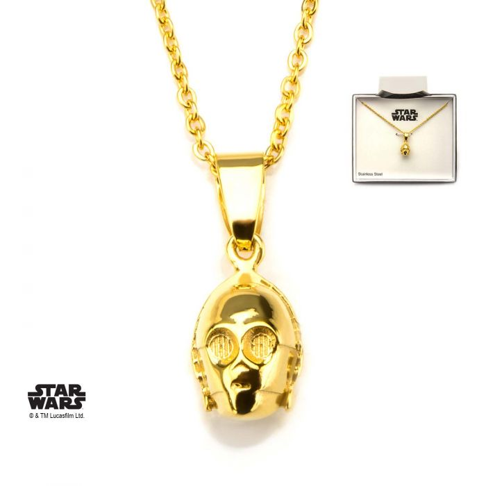 Star Wars C-3PO 3D Pendant with Chain