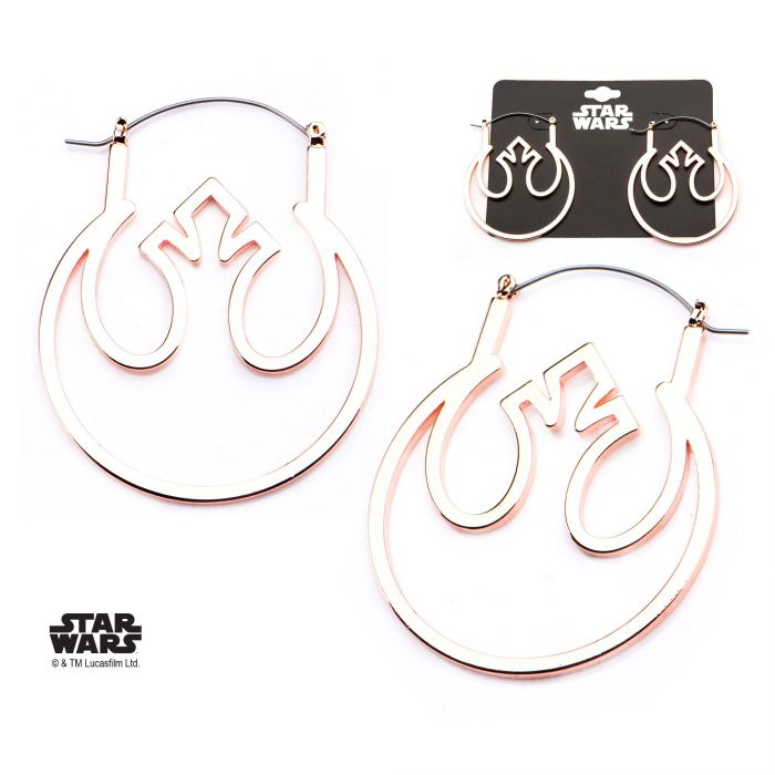 Star Wars Rebel Symbol Hanger Earrings