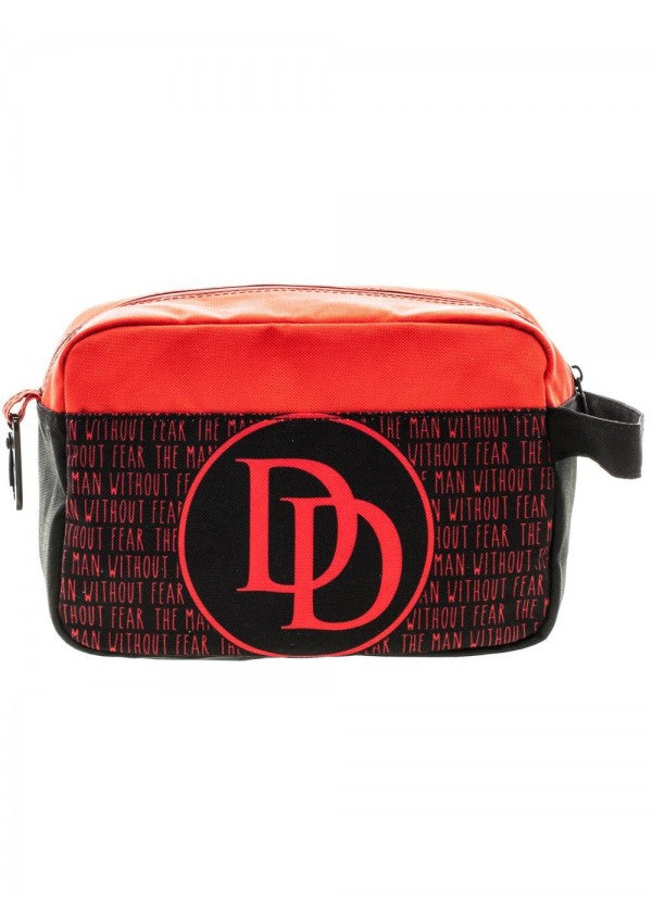 Marvel Daredevil Red/black Dopp Bag Travel Kit FLIGHT BAG