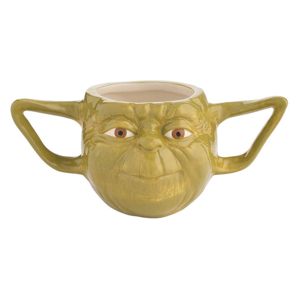 Star Wars Yoda 16oz. Premium Sculpted Ceramic Mug- Kryptonite Character Store