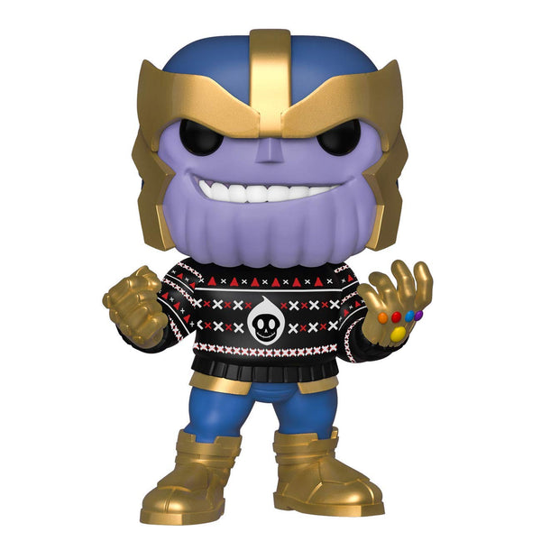 Pop Marvel: Holiday - Thanos in Ugly Sweater - Kryptonite Character Store