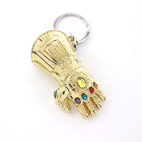 Avengers Infinity Gauntlet  Marvel Thanos Glove Keychain Key Ring