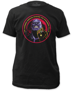 Marvel Avengers Infinity War Thanos Adult T-shirt Impact