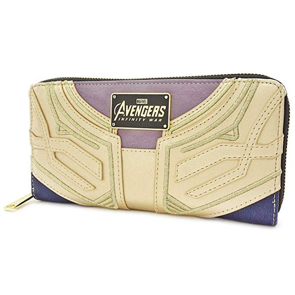 Loungefly Marvel Infinity Gauntlet Faux Leather Zip Wallet