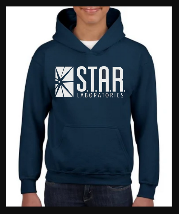 FLASH Star Laboratories S.T.A.R. Labs Adult Hoodie