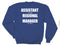 The Office - Assistant to The Regional Manager with Back Print Fleece Adult Crew Sweatshirt