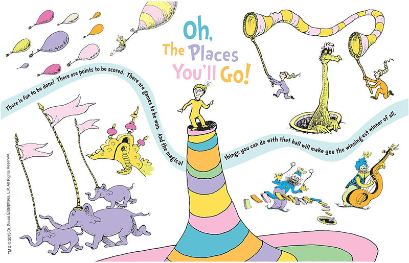 Tervis - Dr. Seuss - Oh the Places You'll Go Tumbler with Wrap, 16 oz - Kryptonite Character Store
