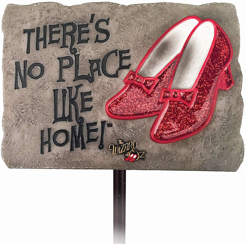 The Wizard of Oz - No Place Like Home Garden Stake - Kryptonite Character Store