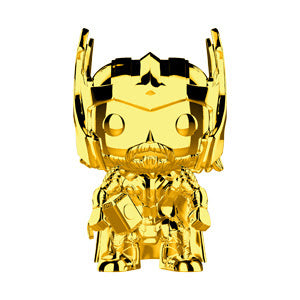 Funko Pop Marvel Studios 10 - Thor (Gold Chrome) Collectible Figure