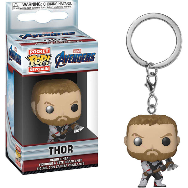 Marvel: Endgame - Thor (TS) POP Keychain - Kryptonite Character Store