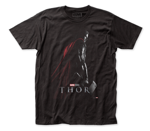 Marvel Comics - Thor Profile Adult Fitted T-shirt