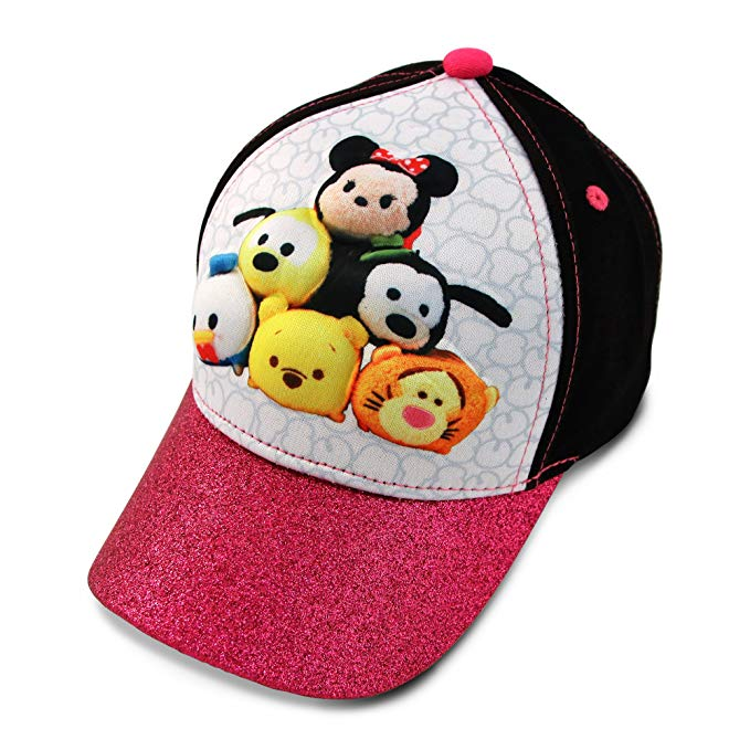 Disney - Tsum Tsum Characters 3D Pop Baseball Cap Hat, KIDS' Size (Age 4-7) - Kryptonite Character Store