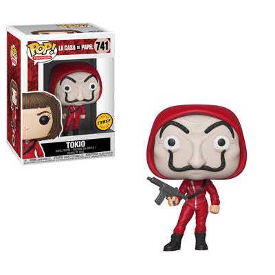 Money Heist - Tokio w/ Dali Mask Chase Pop Television Vinyl Figure