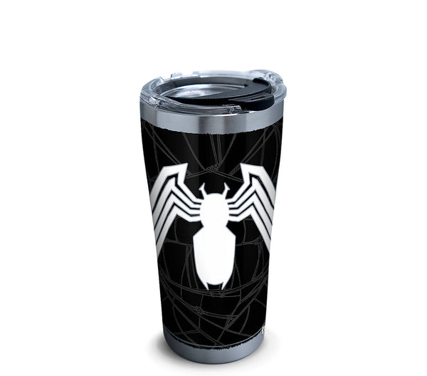 Marvel: Venom 20 oz. Stainless Steel Tervis Tumbler - Kryptonite Character Store\