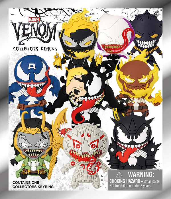 Venom Blind Bag 3D Foam Key Ring - Kryptonite Character Store