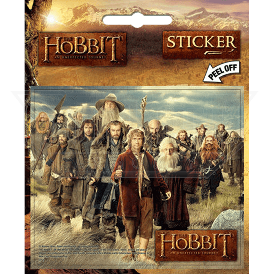The Hobbit Movie Cast Stickers