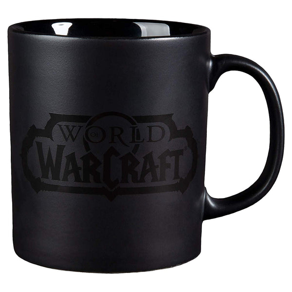 World of Warcraft - Blackout Logo Ceramic Coffee Cup 11oz - Kryptonite Character Store