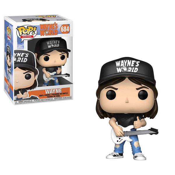 Pop Movies: Wayne's World - Wayne Collectible Figure- Kryptonite Character Store