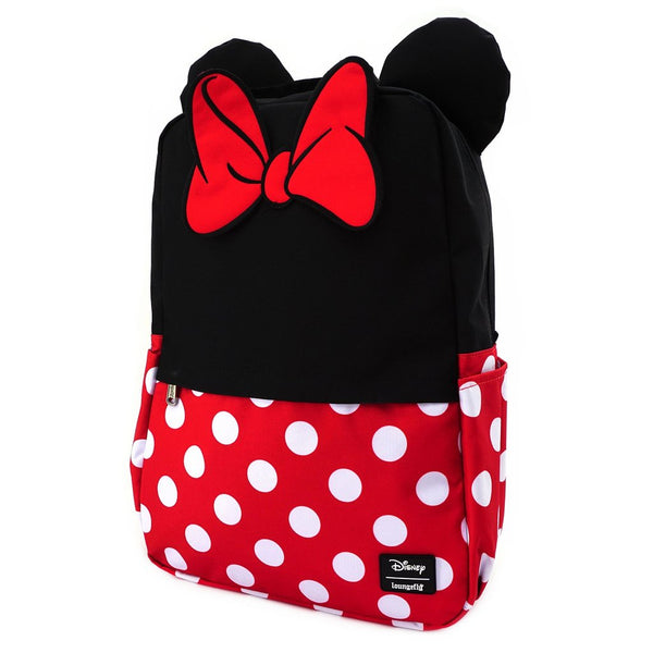 Minnie Mouse Cosplay Square Backpack Loungefly
