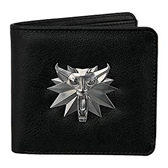 The Witcher White Wolf Mens Bi-Fold Wallet - Kryptonite Character Store