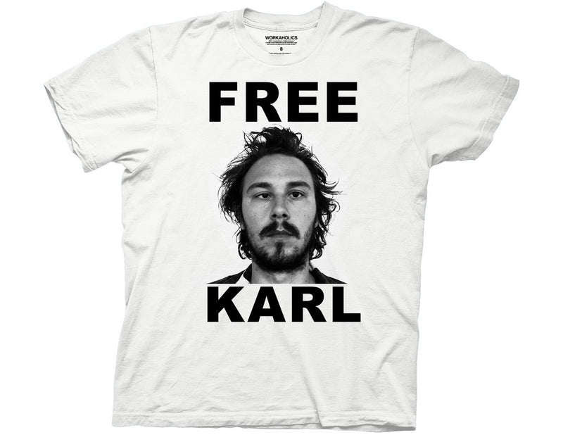 Workaholics Free Karl T-Shirt - Kryptonite Character Store