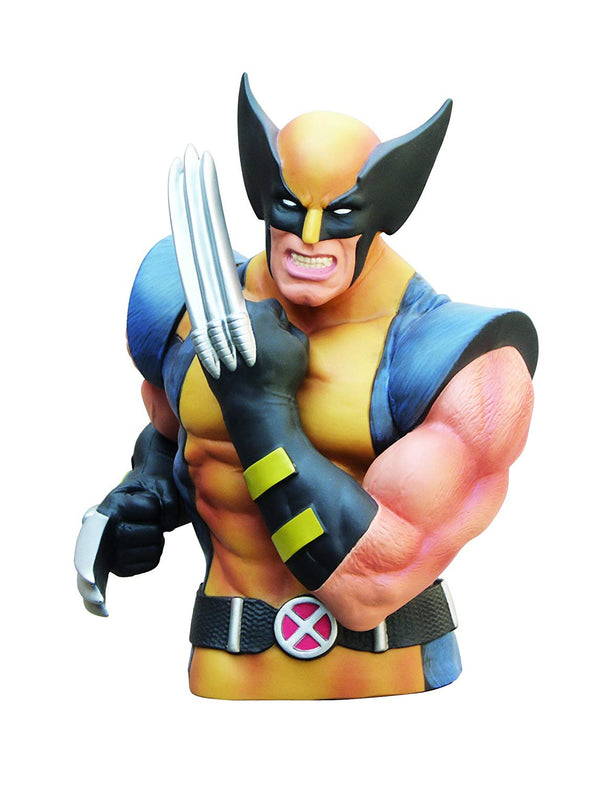 Marvel - X-Men - Wolverine Masked Bust Coin Bank - Kryptonite Character Store
