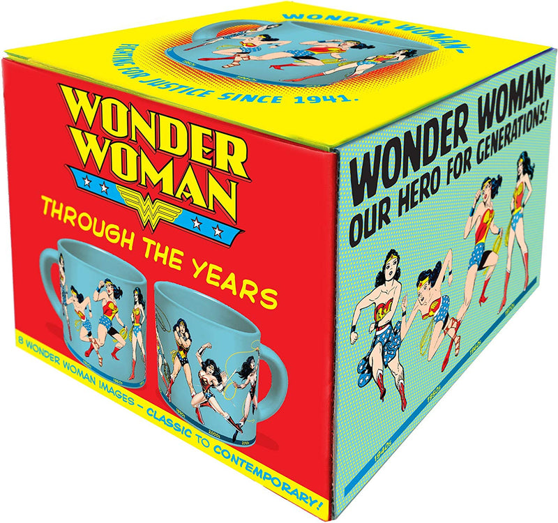 Wonder Woman Through the Years Coffee Mug- Kryptonite Character Store