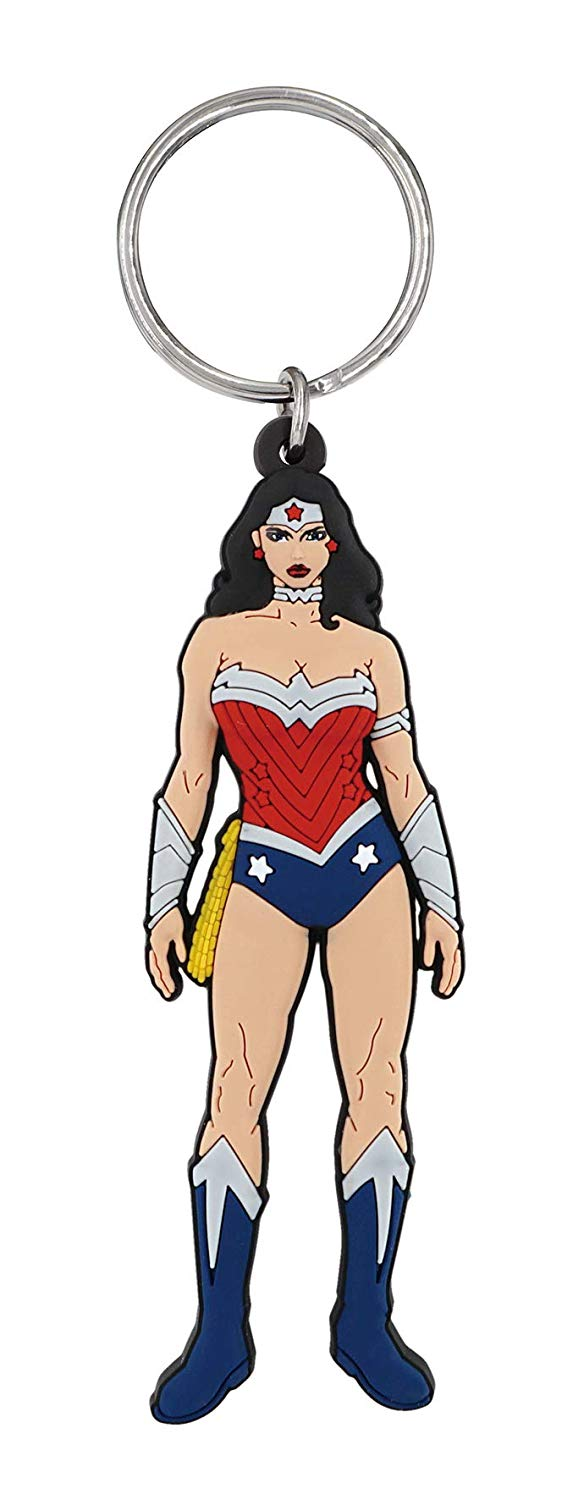 DC - Wonder Woman - Pose Soft Touch Key Ring