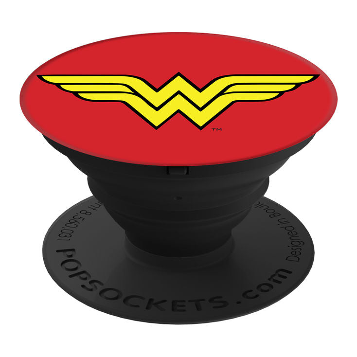 Pop Socket - DC Comics - Wonder Woman Icon in Glossy Print - Kryptonite Character Store