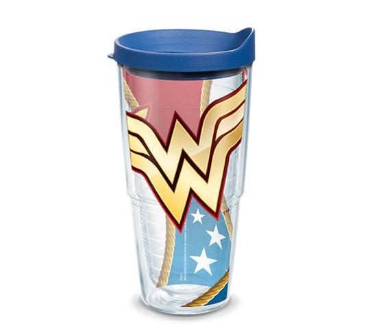 DC: Wonder Woman 24 oz. Tervis Tumbler- Kryptonite Character Store