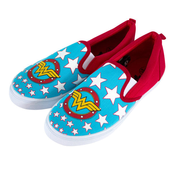 DC Wonder Woman - Canvas Slip On Shoes