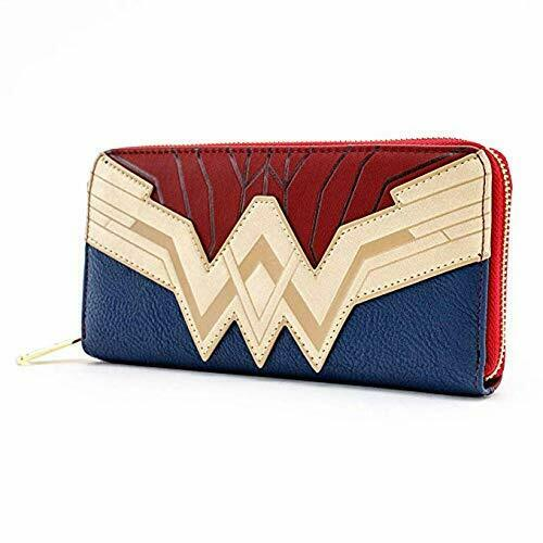 Wonder Woman Saffiano Faux Leather Wallet - Kryptonite Character Store