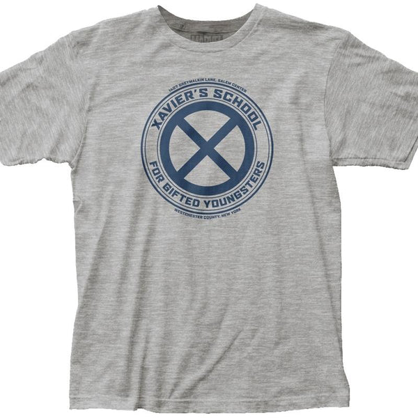 Marvel Comics - X-Men - Xavier's School For Gifted Youngsters Adult Fitted T Shirt